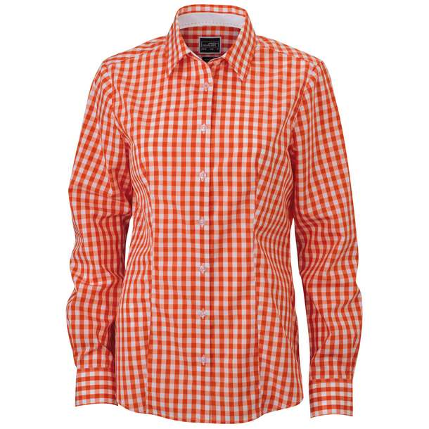 02.0616 James & Nicholson - JN 616 dark orange/white i92