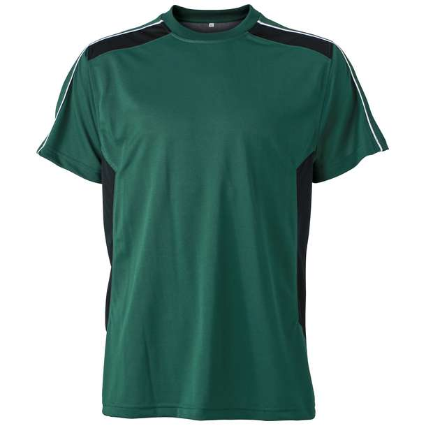 02.0827 James & Nicholson - JN 827 dark green/black 830