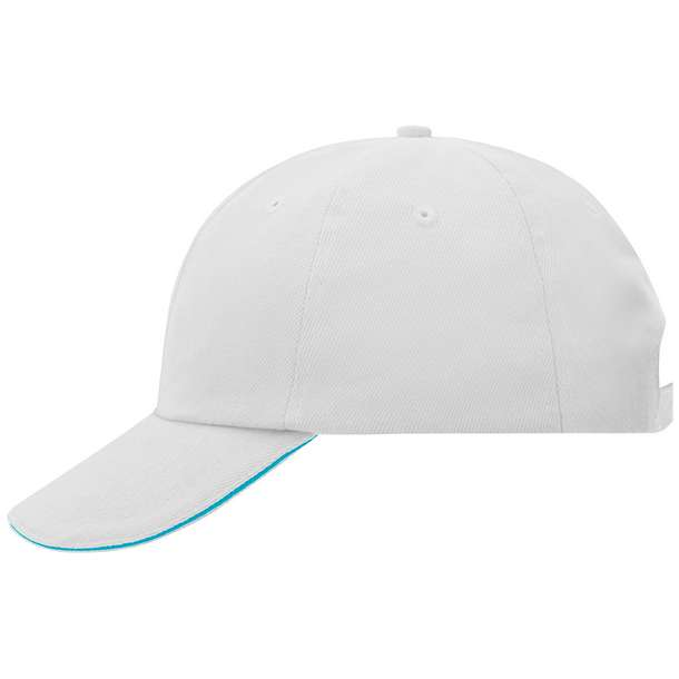 03.6112 Myrtle Beach - MB 6112 white/turquoise 785