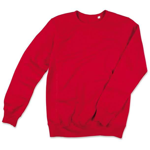 05.5620 Stedman - Sweatshirt crimson red j58