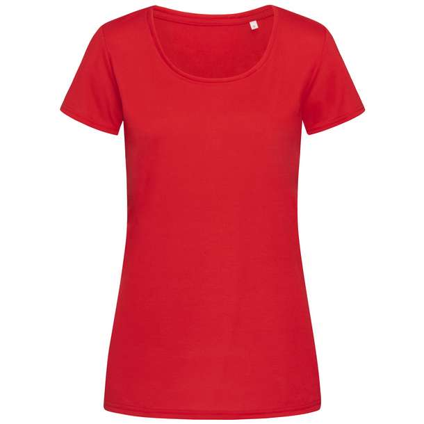 05.8700 Stedman - Cotton Touch Women crimson red j58