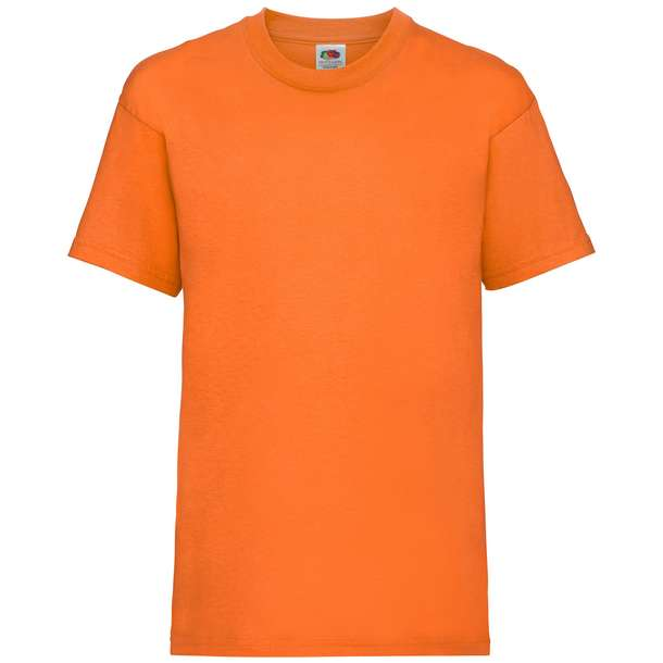 16.1033 F.O.L. - Kids Valueweight T orange 235