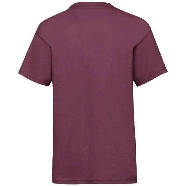 16.1033 F.O.L. - Kids Valueweight T burgundy 370