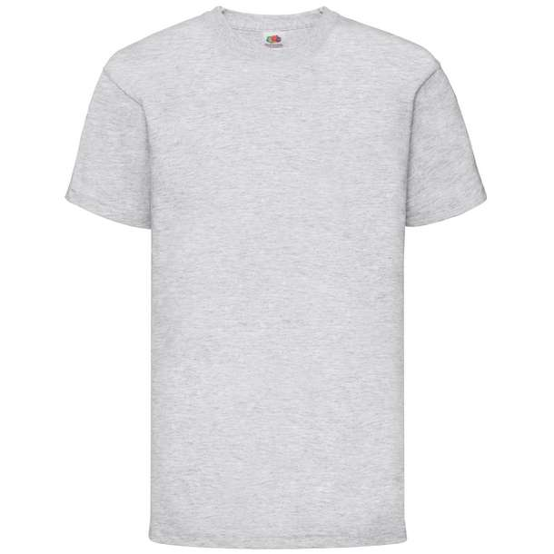 16.1033 F.O.L. - Kids Valueweight T heather grey 610