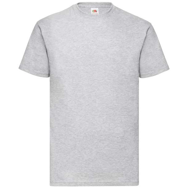 16.1036 F.O.L. - Valueweight T heather grey 610
