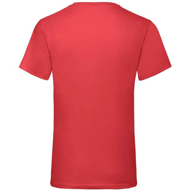 16.1066 F.O.L. - Valueweight V-Neck T red 004