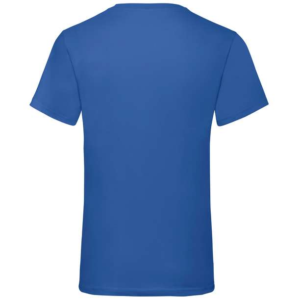 16.1066 F.O.L. - Valueweight V-Neck T royal blue 450