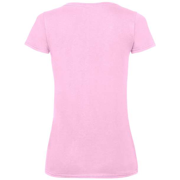16.1398 F.O.L. - Lady-Fit Valueweight V-Neck T light pink 040