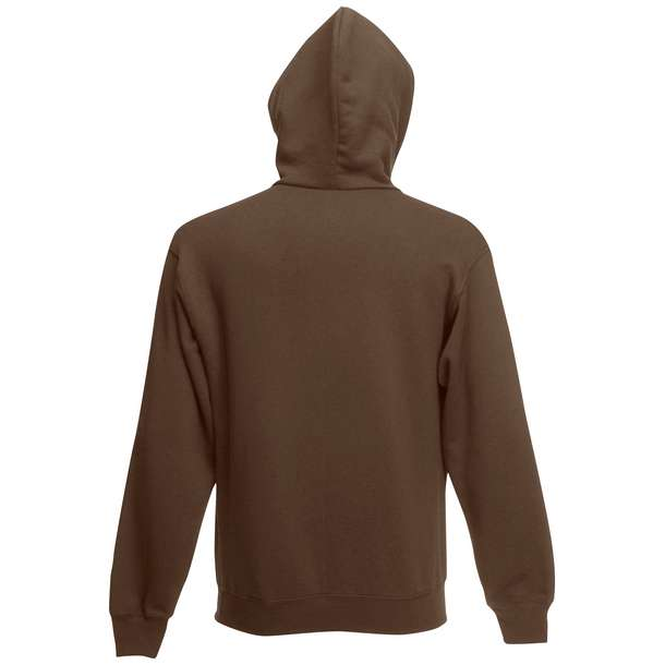 16.2034 F.O.L. - Premium Hooded Sweat Jacket chocolate 140