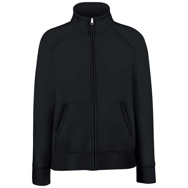 16.2116 F.O.L. - Premium Lady-Fit Sweat Jacket black 002