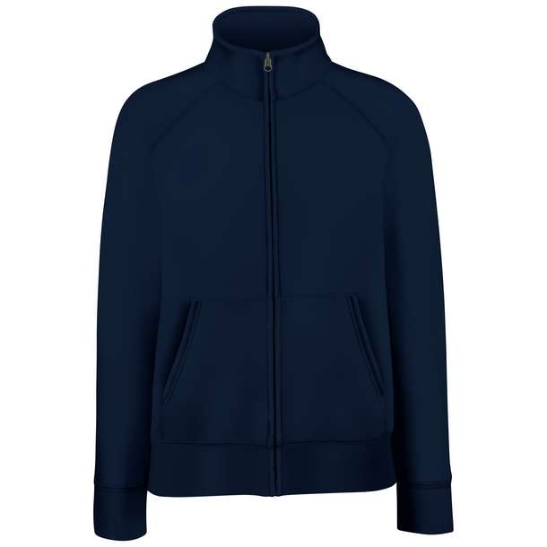 16.2116 F.O.L. - Premium Lady-Fit Sweat Jacket deep navy a36