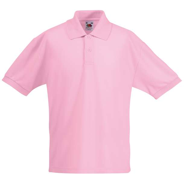 16.3417 F.O.L. - Kids 65/35 Polo light pink 040