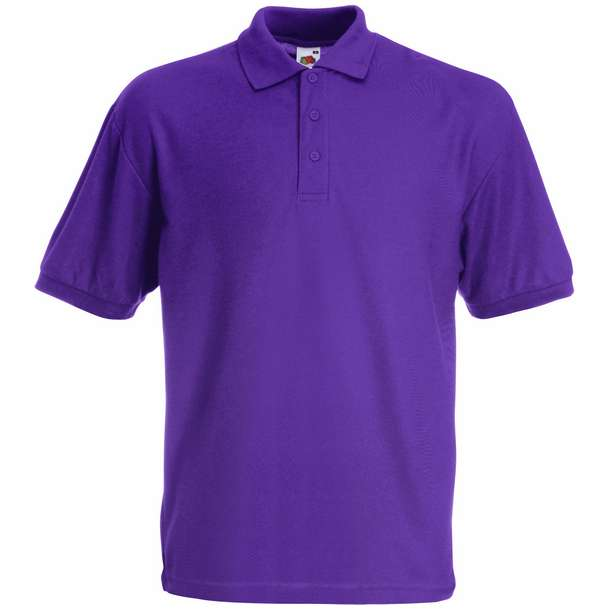 16.3417 F.O.L. - Kids 65/35 Polo purple 350