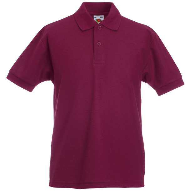16.3417 F.O.L. - Kids 65/35 Polo burgundy 370