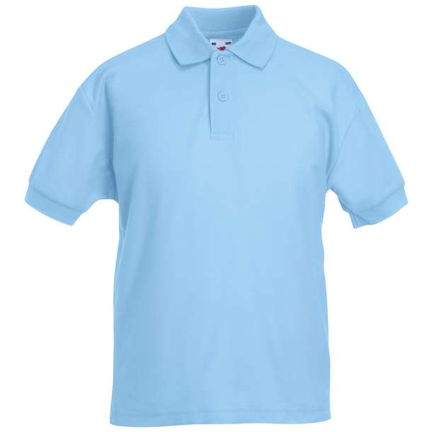 16.3417 F.O.L. - Kids 65/35 Polo sky blue 410