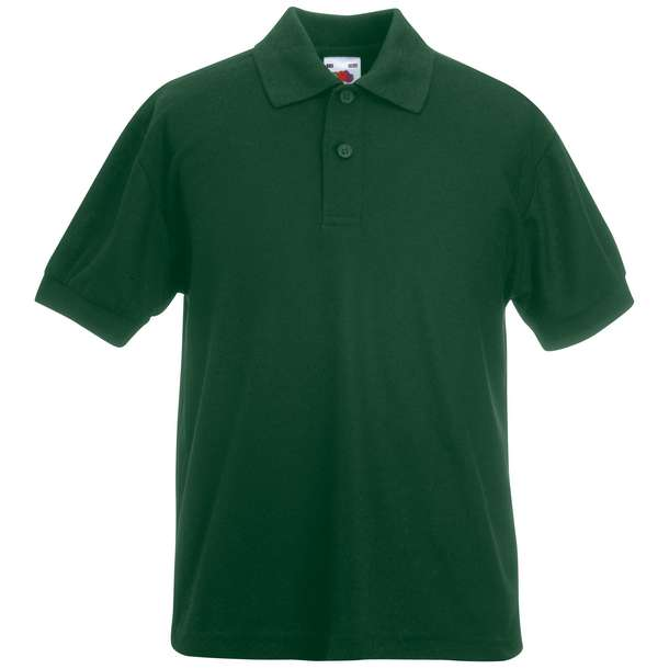 16.3417 F.O.L. - Kids 65/35 Polo bottle green 540
