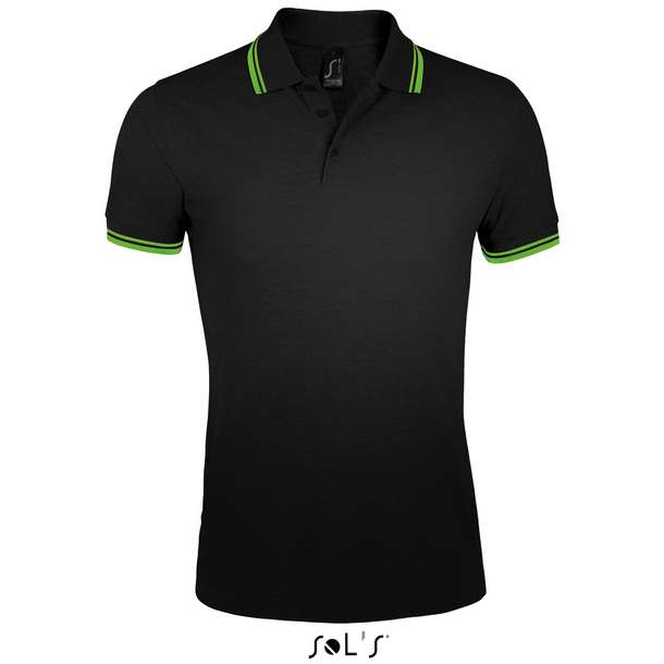 25.0577 SOL'S - Pasadena Men black/lime a04