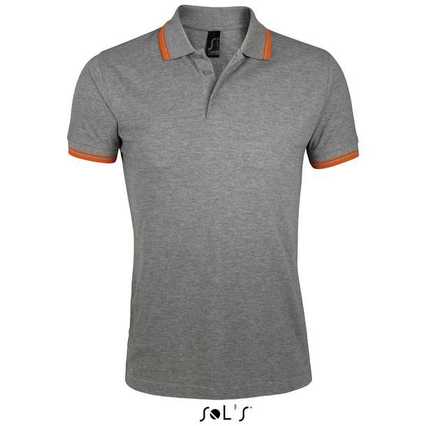 25.0577 SOL'S - Pasadena Men melange grey/orange n30