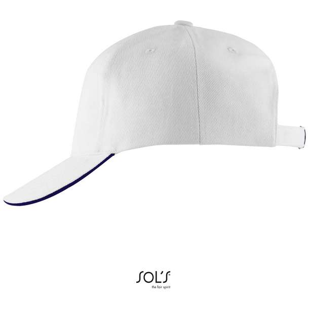 25.0594 SOL'S - Long Beach white/french navy 499