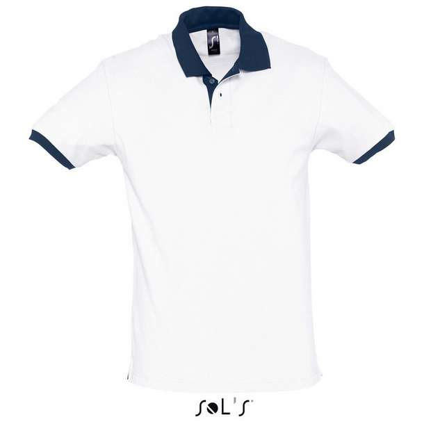 25.1369 SOL'S - Prince white/french navy 499