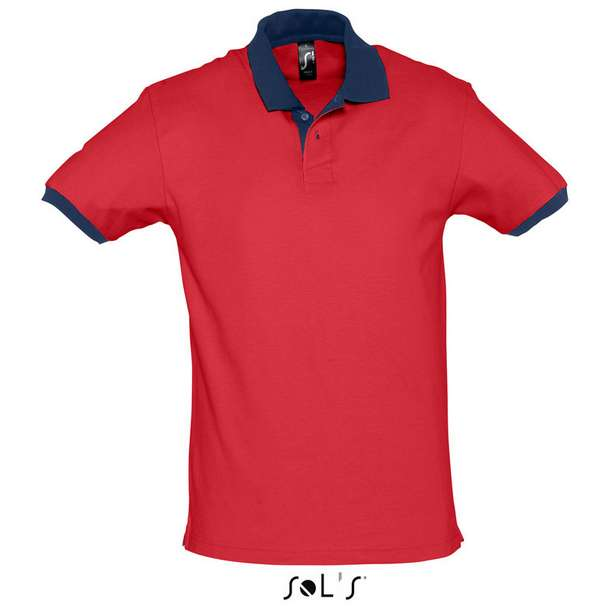 25.1369 SOL'S - Prince red/french navy d78